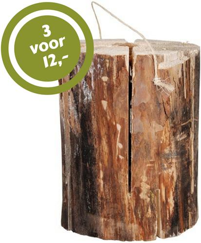 Zweedse Fakkel 25 cm hoog, diameter 17 - 25 cm