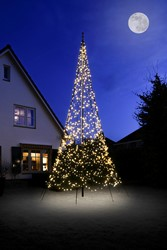Fairybell kerstboom, hoogte 600 cm, 1200 LED's