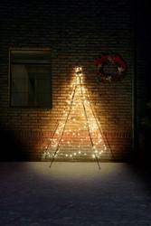 Fairybell muurkerstboom, hoogte  200 cm, 180 LED's