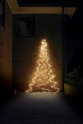 Fairybell muurkerstboom, hoogte  400 cm, 240 LED's