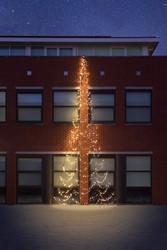Fairybell muurkerstboom, hoogte 800 cm, 750 LED's