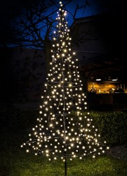 Fairybell kerstboom, hoogte 185 cm,  250 LED's FLASH