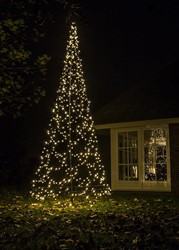 Fairybell kerstboom, hoogte 420 cm, 640 LED's FLASH