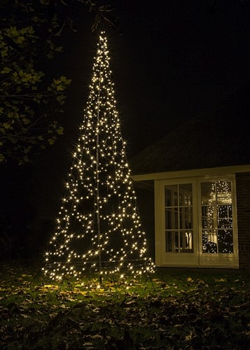 Fairybell kerstboom, 800cm-1500LED warm white