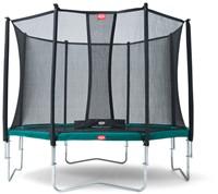 BERG trampolineFavorit Tattoo, veiligheidsnet Comfort, diam. 430 cm.