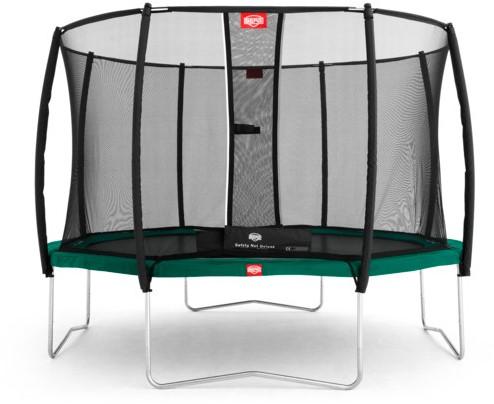 BERG trampoline Favorit, veiligheidsnet Deluxe, diam. 330 cm.