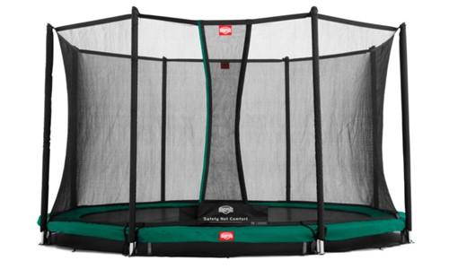 BERG inground trampoline Favorit, veiligheidsnet Comfort, diam. 430 cm.