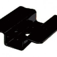 B-fix clips, incl. torx schroeven, rvs zwart, set van 100 clips