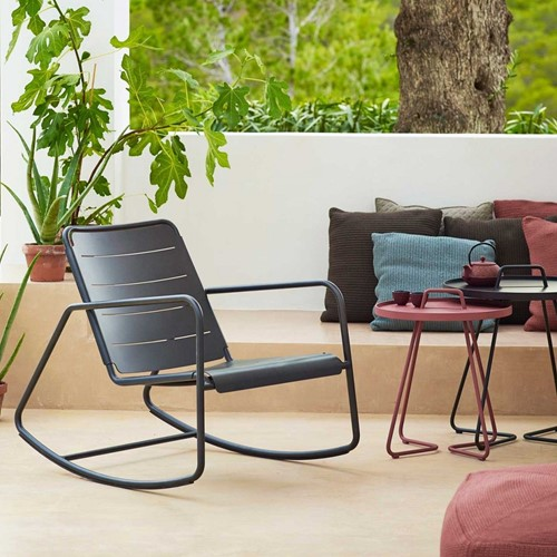 Cane-line Copenhagen rocking chair, 2 stuks-3