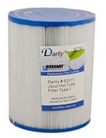 Darlly spa filter voor jacuzzi, type SC752, afm. 25 ft2