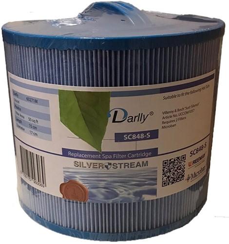 Darlly spa filter voor hot tub, type SC848, afm. 50 ft2