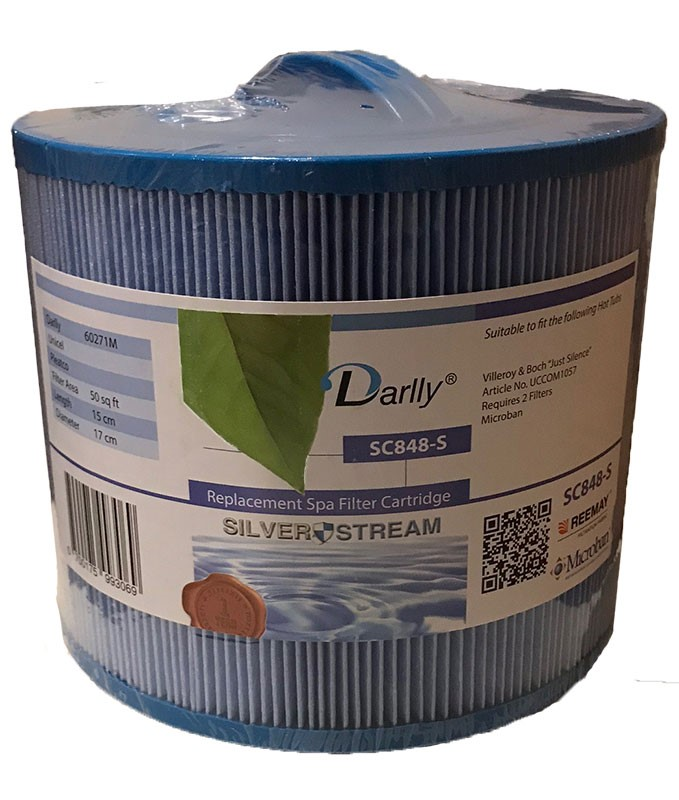 Darlly filters Darlly spa filter voor jacuzzi, type SC848, afm. 50 ft2