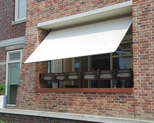 Nesling balkon zonnezeil flexframe voor Coolfit rolgordijn -3