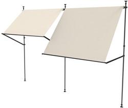 Nesling balkon zonnezeil flexframe koppelstuk