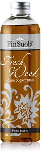 Sauna opgietmiddel,  fresh wood, fles 250 ml
