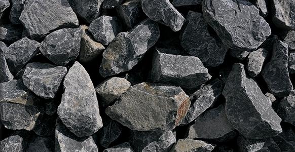 Garden Trade Stenen Friuli, afm. 5 - 7,5 cm, grijs-zwart, voor 3 muurkorven (0,39 m3)