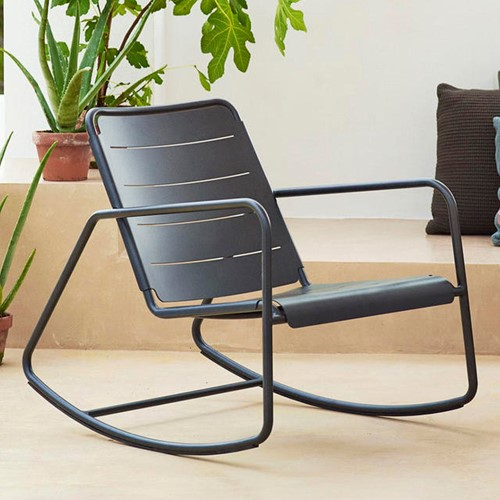 Cane-line Copenhagen rocking chair, 2 stuks-2