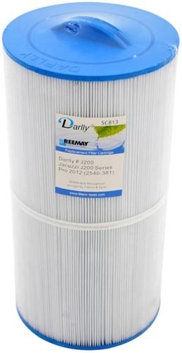 Darlly spa filter voor jacuzzi, type SC813, diam. 20 cm, lengte 39 cm