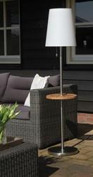Gacoli tuinlamp Roots No.4, hoogte 160 cm met tafeltje