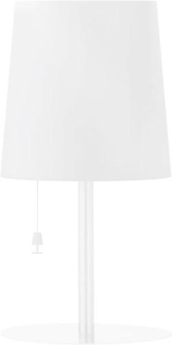 Gacoli tuinlamp Checkmate No.2, hoogte 45 cm, WIT-2