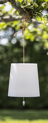 Gacoli tuinlamp Checkmate No.2, kaphoogte 24 cm, hang