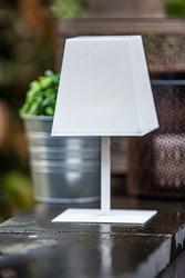 Gacoli tuinlamp Manhattan No.1, hoogte 23 cm, WIT