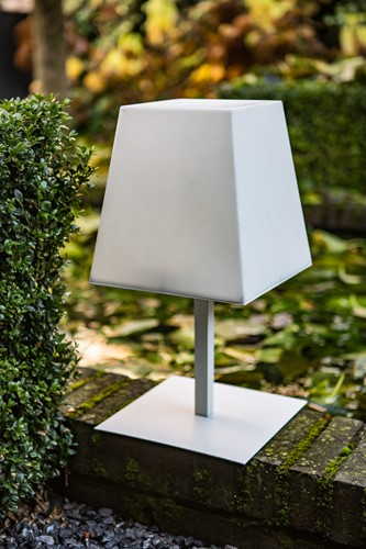 Gacoli tuinlamp Manhattan No.2, hoogte 46 cm, WIT