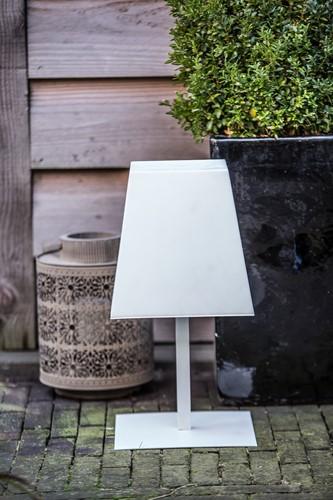 Gacoli tuinlamp Manhattan No.2, hoogte 46 cm, WIT-3