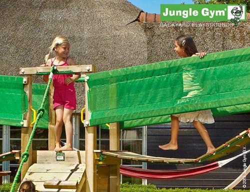 Houtpakket voor Jungle Gym Bridge Link, niet op maat gezaagd