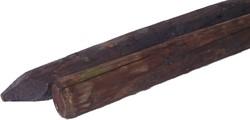 gecreosoteerde palen Ø8 - 250 tapse kop