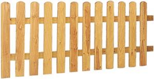 Geimpregneerde hekken, poorten