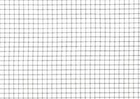 Volièregaas, hoogte  50 cm, maaswijdte 12.7 x 12,7 mm, verzinkt, rol  2 m.-2