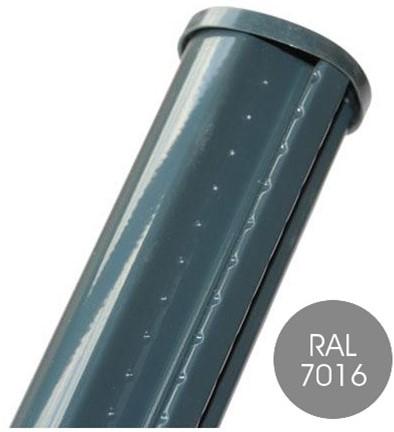 Garden Trade profielpaal voor draadpaneel, diameter 48 mm, vuurverzinkt en epoxy-gecoat