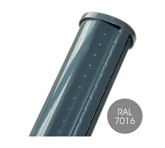 Garden Trade profielpaal voor draadpaneel, diameter 48 mm, vuurverzinkt en epoxy-gecoat - 150 cm - groen (RAL 6005)