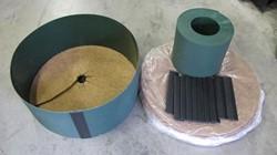 Gietrand Totaal Pakket voor wortelkluit tot Ø 100 cm