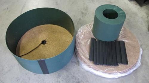 Gietrand Totaal Pakket voor wortelkluit tot Ø 133 cm