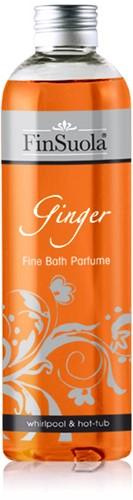Badparfum ginger, fles 250 ml