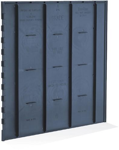 DeepRoot wortelgeleidingspaneel, afm. 60 x 60 cm (hxb) 12,0 m per pak
