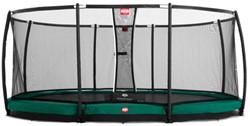 BERG inground trampoline Grand Champion, veiligheidsnet DeLuxe, afm. 515 x 365 cm.