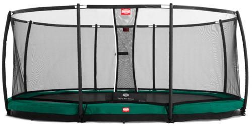 BERG inground trampoline Grand Champion, veiligheidsnet DeLuxe Grand Champion, afm. 515 x 365 cm.