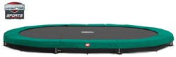 BERG Sport inground trampoline Grand Champion Green, afm. 515 x 365 cm.