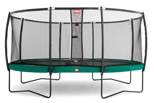 BERG trampoline Grand Champion, veiligheidsnet DeLuxe Grand Champion, afm. 515 x 365 cm
