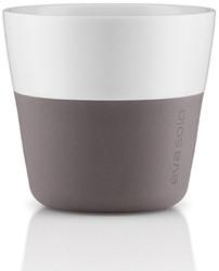 Eva Solo Lungo koffiemok, inhoud 230 ml, grijs, per 2 st.