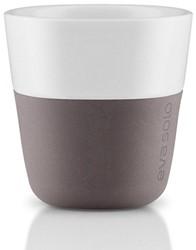 Eva Solo Espresso koffiemok, inhoud 80 ml, grijs, per 2 st.
