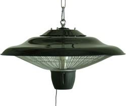 Sunred elektrische terrasheater CELC, halogeen, vermogen 1500 W, hangmodel, zwart