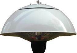 Sunred elektrische terrasheater CE11, halogeen, vermogen 1500 W, hangmodel, wit