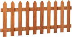 Hardhouten hekken, poorten