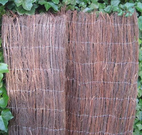 heidemat op rol, afm. 175 x 500 cm, ca. 1,5 cm dik