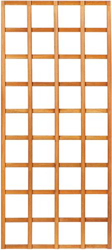 Trellisscherm recht, afm.  90 x 180 cm, hardhout