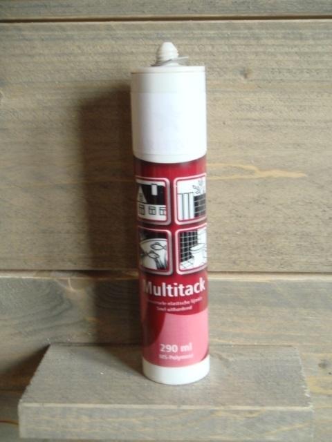 Hillhout kit voor vastzetten van hardstenen blad tuinkast/buitenkeuken